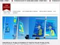 Fun Drapeaux Pavoisement : drapeaux publicitaires et m�ts adapt�s pour signal�tique, promotion et plv