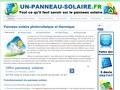 Un Panneau Solaire : faire poser des panneaux solaire