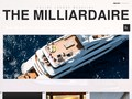 The Milliardaire : magazine sur le monde du luxe