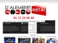 D'Alembert Metal : plombier à Paris