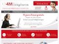 4M Téléphonie : accueil téléphonique, permanence et secretariat