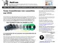 Mes K7 : transfert de vos cassettes sur DVD