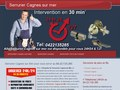 Allo Serrurier Cagnes-Sur-Mer : serruriers professionnels et compétents