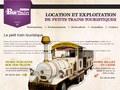 Le Petit Train : petit train touristique à Paris avec espaces publicitaires