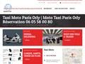 Moto Taxi Orly : découvrez Paris avec un moto taxi