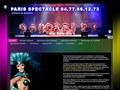 Paris Spectacle : spectacles de variétés à thèmes sur toute la France