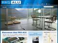 ProAlu menuiserie aluminium tunisie