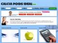 Calcul Poid Ideal : calculer son poids IMC