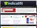 Indicatifs : indicatifs téléphoniques internationaux - Liste interactive