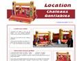 Château Gonflable : réserver un jeu de plein air