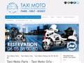 Taxi moto Paris Orly Roissy : moto taxi pour tous vos déplacements