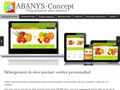 Abanys Concept : agence internet, design responsive