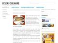 Réseau Culinaire : portail de repas, dessert et entrée