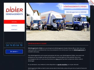 Déménagement Didier Vienne : déménagement et garde meubles à Vienne