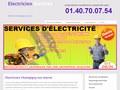 Electricien à Champigny sur Marne
