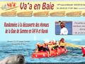 Activitée nautique - pirogue et kayak en baie de Somme