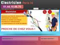 Electricien sur Paris 14ème