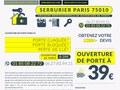 Blindage de porte par serrurier à Paris 10ème
