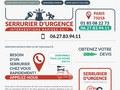 Professionnel de l'urgence en serrurerie sur Paris 18