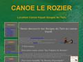 Location cano� Le Rozier - Les Gorges du Tarn en cano� kayak