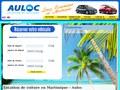 Auloc : location de voiture en Martinique