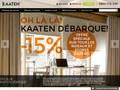 Kaaten : boutique de rideaux en ligne