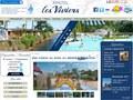 Les Viviers : camping avec parc aquatique