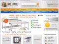 Pro Inox : lave vaisselle professionnel