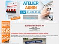 Electricit� � Paris 11�me - Atelier Aubin