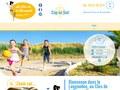 Camping Le Clos de la Grangette : emplacement pour caravane à Cap D'Agde