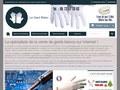 Achat de gants blancs en ligne