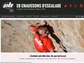 Chaussons d'escalade pour grimpeur EB