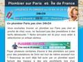 Plombier pas cher sur Paris