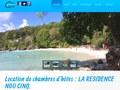 Nou Cinq : location de chambre d'hôtes en Guadeloupe