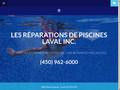 Réparation de piscine à Laval