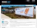 Panneaux Inside Out : impression de panneau de bâche tendue pour votre chantier