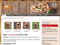 Four Eloge : four à bois pour pizza