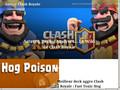 Astuces pour le jeux Clash Royale