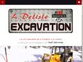 Excavation L.Delisle : excavation et démolition sur Saint-Apollinaire et Lévis