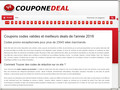 Coupone Deal : coupons de réduction et code promo