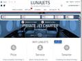 LunaJets : affrétement de jet privé