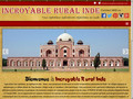 Incroyable Rural Inde : tour opérateur en Inde
