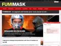 Fumimask : masque de protection respiratoire contre les fum�es d'incendies