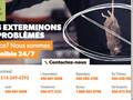 911 Exterminateur : extermination d'insectes et rongeurs à Montréal, Laval et Rive sud