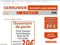 Serrurier à Nogent-sur-Marne - Professionnel de l'ouverture de porte