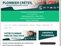Artisan plombier à Créteil - Expert en rénovation plomberie