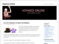 Voyance en ligne  informations sur la voyance