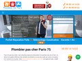 Plombier à Paris pas cher