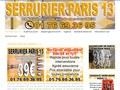 Serrurier à Paris 13e à plein temps