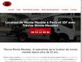 Trévise : location de monte meuble à Paris